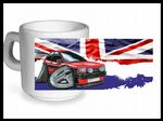 Koolart CLASSIC BRITISH Design For Retro Mk1 Ford Fiesta XR2 - Ceramic Tea Or Coffee Mug